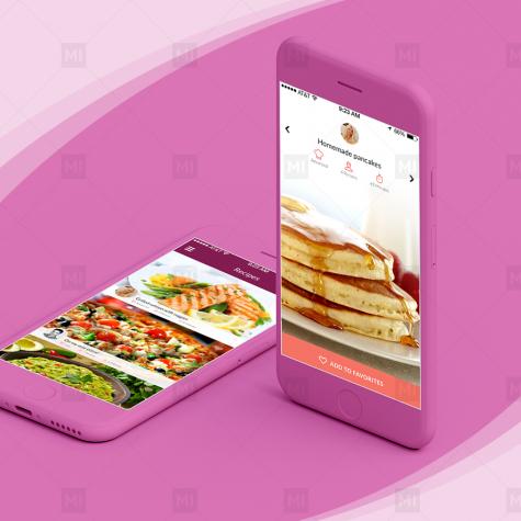 Recipes Mobile App Design