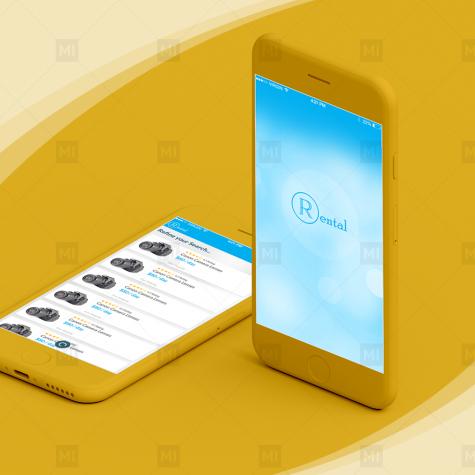 Rental Mobile App Design